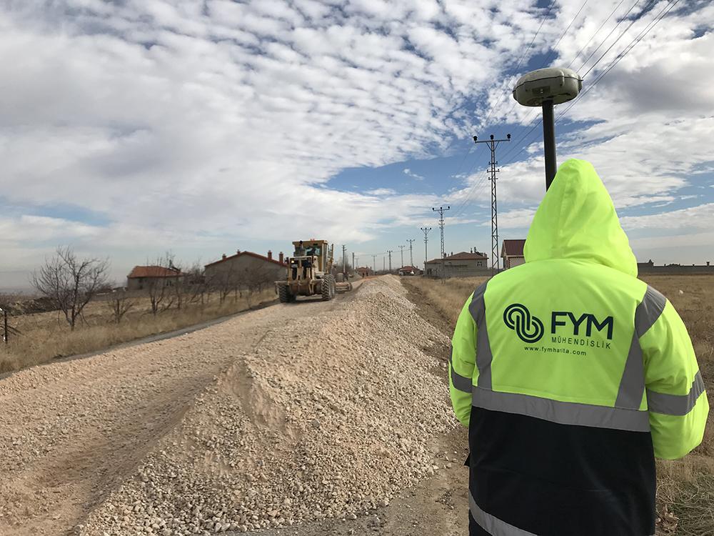 Köy Yolları Stabilize Serimi İşi